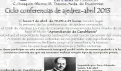 Convocatoria de las conferencias 